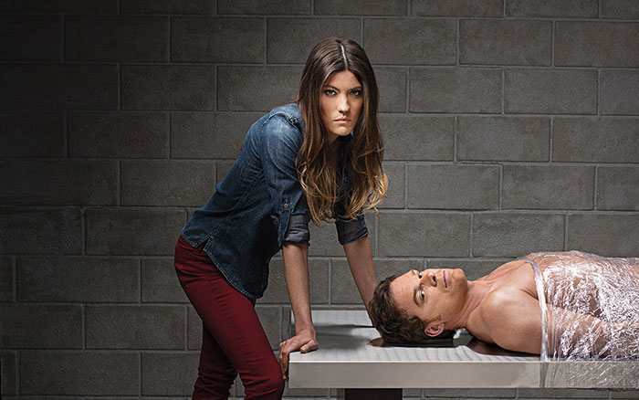 Dexter and Sister Debra Morgan
