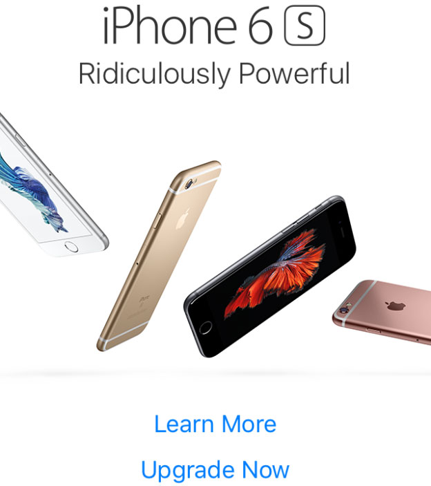 iPhone 6s Pop ad