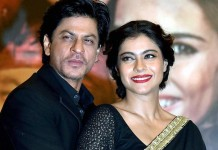 srk and kajol romance