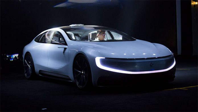 LeEco electric car