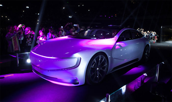 Chinese LeEco electric car