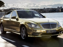 mercedes benz s600 gold edition
