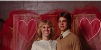 Tonya Westphalen and Brad Pitt