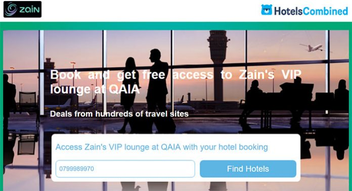 zain booking