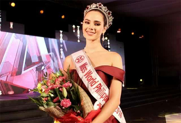 Catriona Elisa Gray is Miss World Philippines 2016